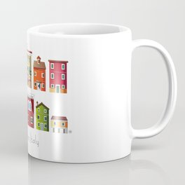 Burano, Italy (pattern) Coffee Mug