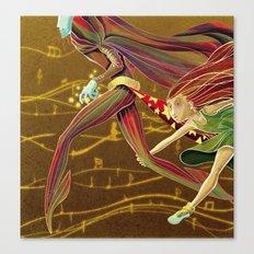 Wait for me! Canvas Print