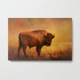 Buffalo Dreams Metal Print