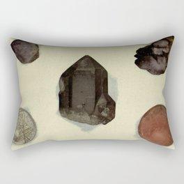 Quartz Minerals Rectangular Pillow