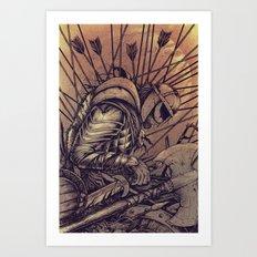 Last Struggle Art Print