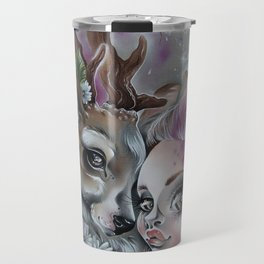 deer love Travel Mug