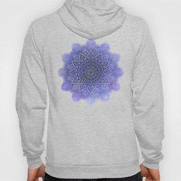 purple mandala of hearts Hoody