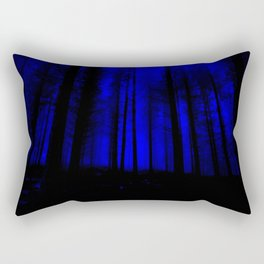 fantasy forest at night Rectangular Pillow