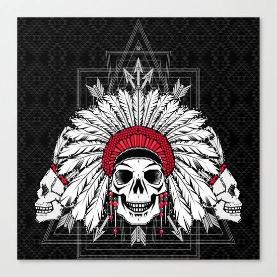 Southern Death Cult Canvas Print