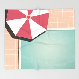 Private Pool #society6 #decor #buyart Throw Blanket