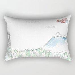 The Woods Rectangular Pillow
