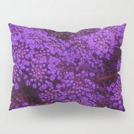Purple Queen Anne's Lace Landscape Pillow Sham