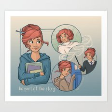 Be Part of the Story Art Print
