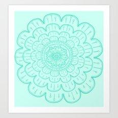 minty fre$h Art Print