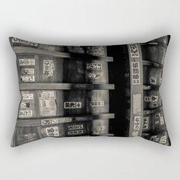Pilgrim Prayers Rectangular Pillow