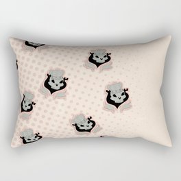 Royal Skulls Rectangular Pillow