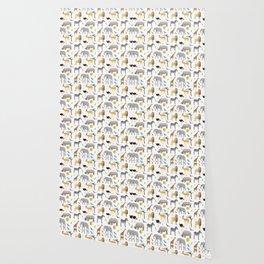 Safari Savanna Multiple Animals Wallpaper