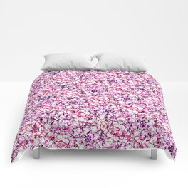 Mixed impression Comforters