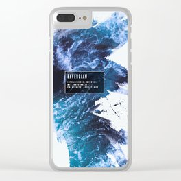 Ravenclaw Nature Clear iPhone Case