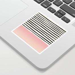Blush x Stripes Sticker
