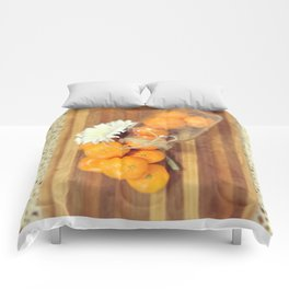 Lacy Clementines Comforters