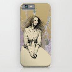 Sitting girl iPhone 6s Slim Case