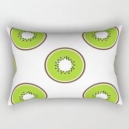 Kiwi summer fruit Rectangular Pillow