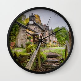 Quaint Tea Room Wall Clock