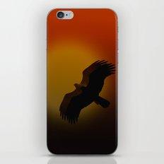 Shadow flight iPhone & iPod Skin