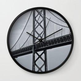 Bay Bridge Wall Clock