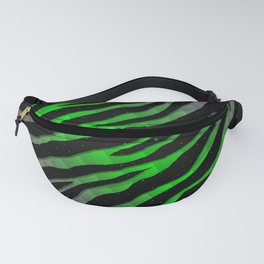 Ripped SpaceTime Stripes - Pink/Green Fanny Pack