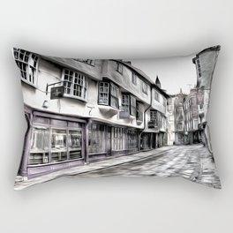 The Shambles York Art Rectangular Pillow