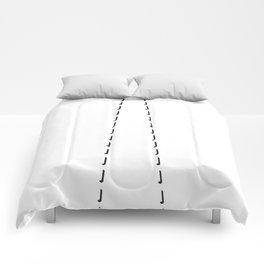 Inset Tie Here - missing Comforters