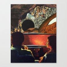 The Getaway by Zabu Stewart Canvas Print