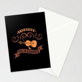 Violin - Obsessive Violin Disorder Stationery Cards