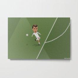 Zidane's volley Metal Print