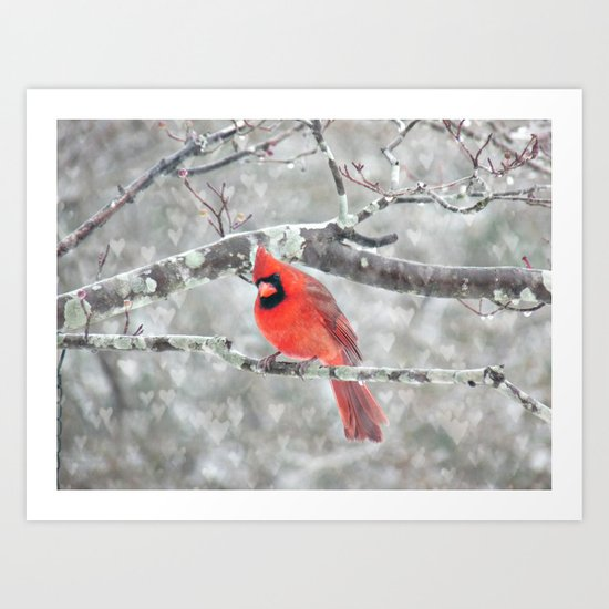 Color My Winter Art Print