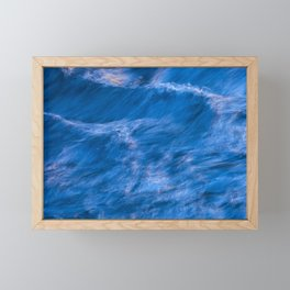 Water abstract Framed Mini Art Print