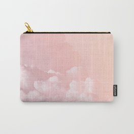 COTTON CANDY PASTEL CLOUDS Carry-All Pouch