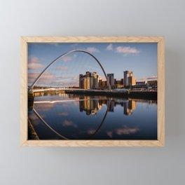 Millennium Bridge Gateshead Framed Mini Art Print