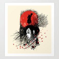 Renai Art Print