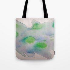 Lime Burst Tote Bag