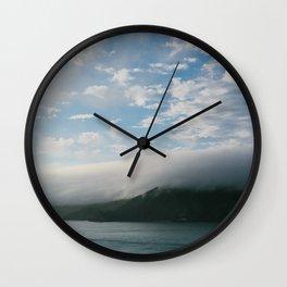 Fog Invasion // California Wall Clock