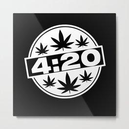 Kiffen Kiffen Gift 420 Stoner Kiffer Accessories Metal Print