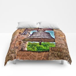 The Bell Tower Antique Stone Arches Comforters