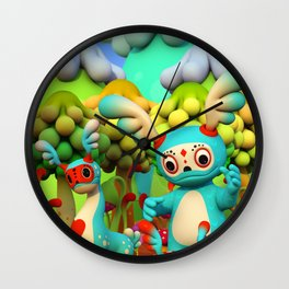 Zupo's Quest Wall Clock