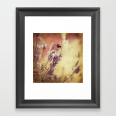 {flight of the bumblebee} Framed Art Print