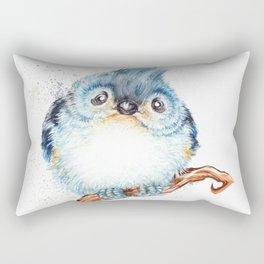 Baby titmouse Rectangular Pillow