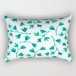 Garden Leaves Rectangular Pillow