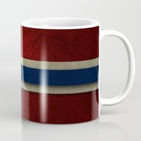 norway Mugs featuring Norway by The Traveller, Wanderlust and Me