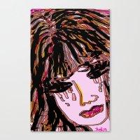 doll Canvas Prints featuring doll by sladja