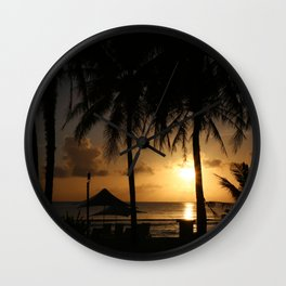 Glorius Sunset Wall Clock