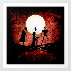 The Tale of the Three Brothers Art Print