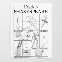 Death by Shakespeare Poster